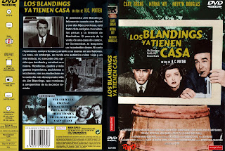 Carátula dvd: Los Blandings ya tienen casa (1948)