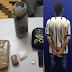 Jovem vindo de Porto Alegre é preso em Santiago com drogas