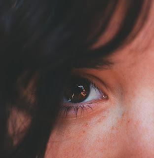 Blue Color Beautiful Eyes DP
