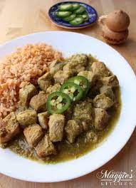 What to eat better with Chile Verde de Santiago?