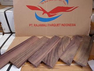 penjual lantai kayu parket di Bontang