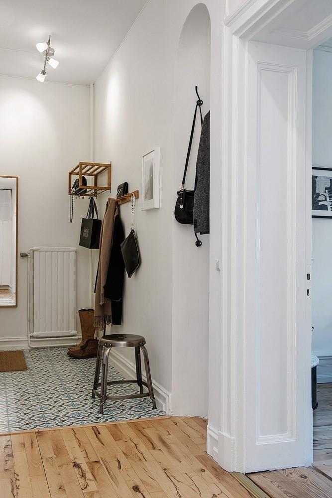 d couvrir l 39 endroit du d cor carreaux de ciment pour l entr e. Black Bedroom Furniture Sets. Home Design Ideas