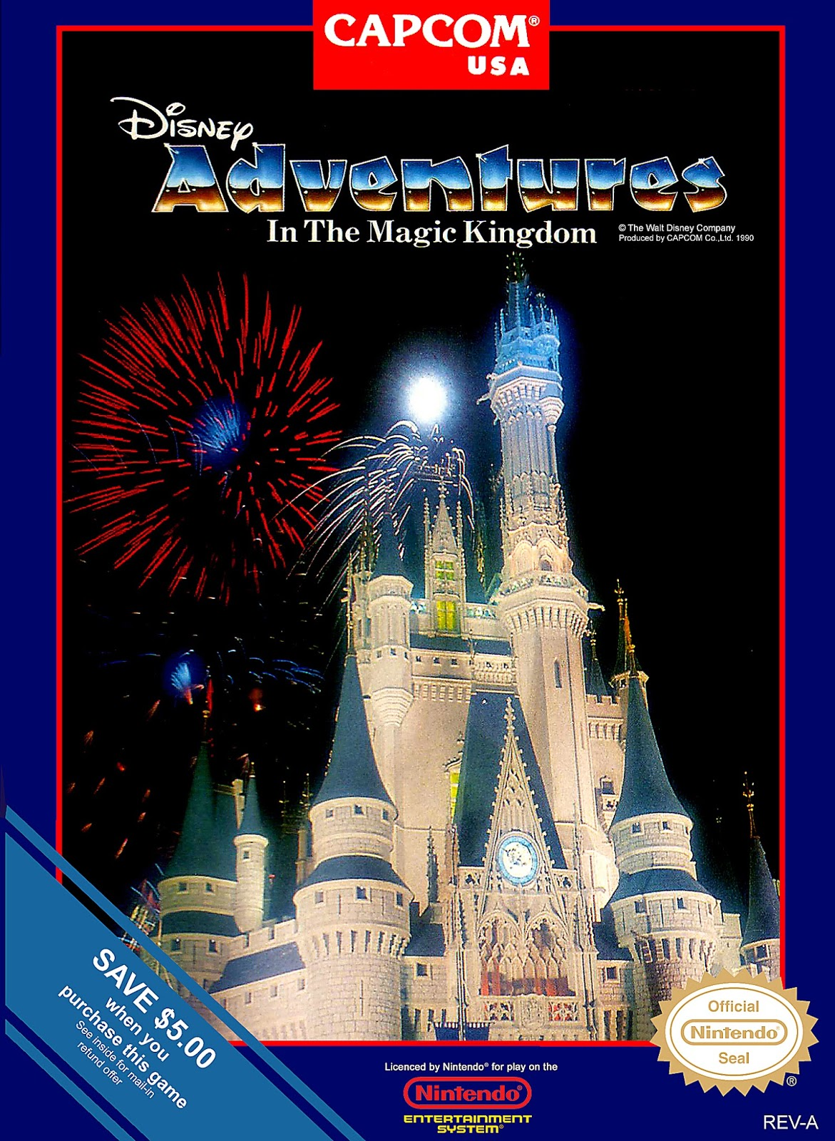 Adventures In The Magic Kingdom Nes The Game Hoard