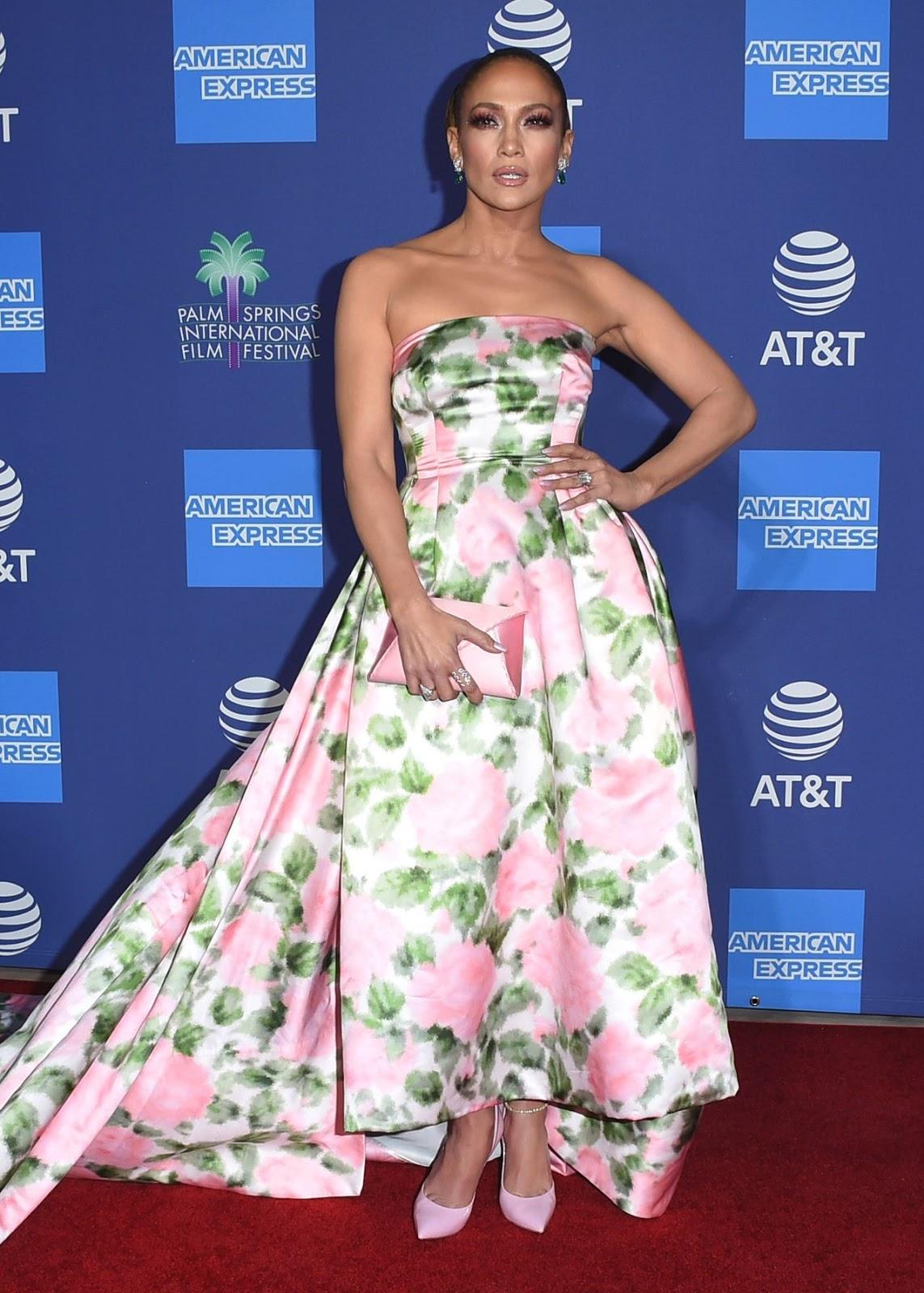 Jennifer Lopez – 31st Annual Palm Springs International Film Festival Film Awards