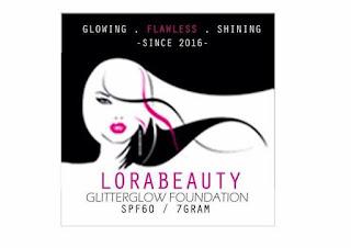 GLITTER GLOW FOUNDATION BY LORA BEAUTY