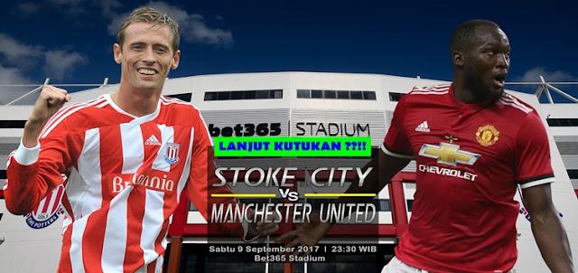 Prediksi Taruhan Bola 365 - Stoke City vs Manchester United 9 September 2017
