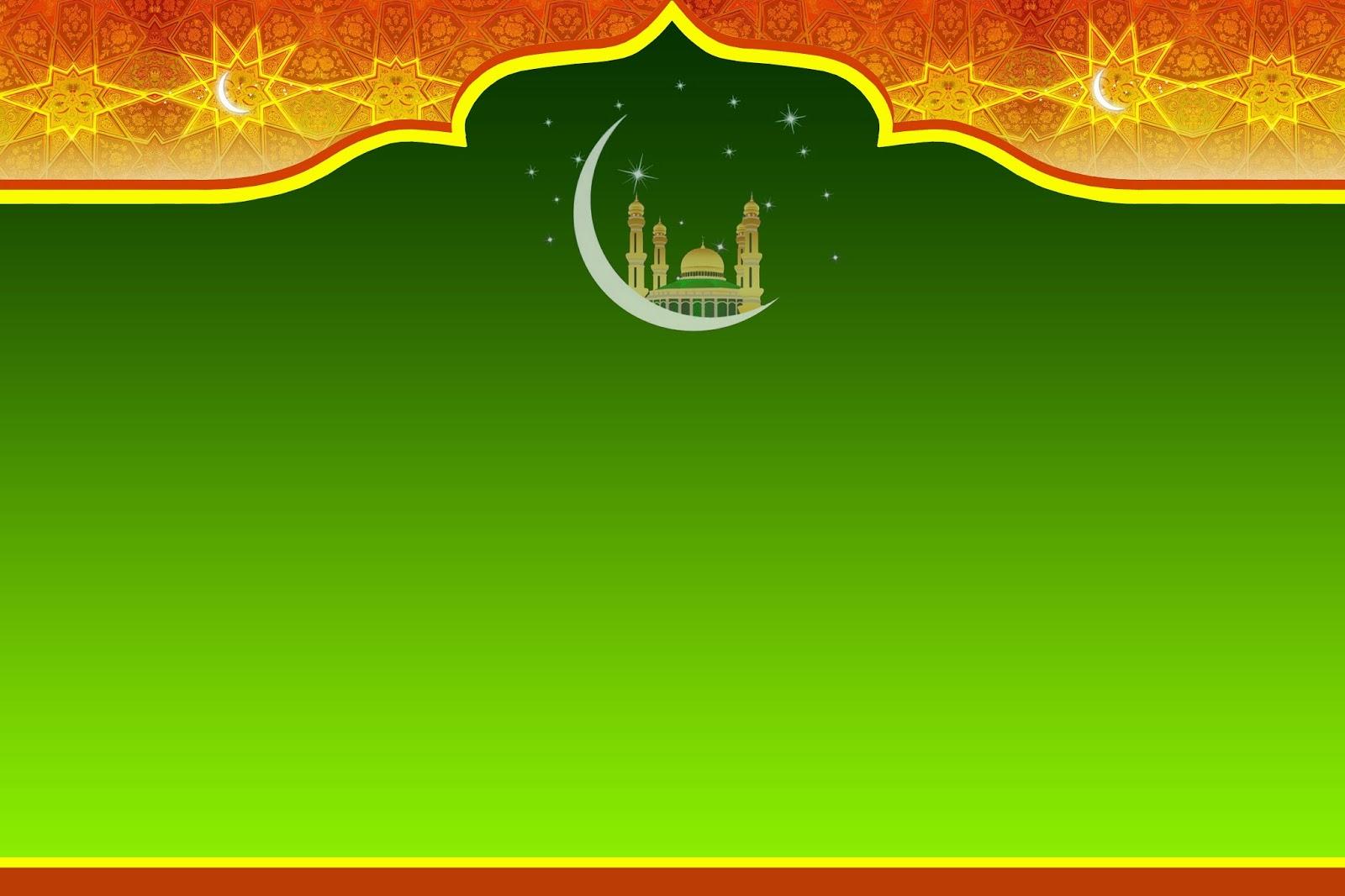 background spanduk islami keren