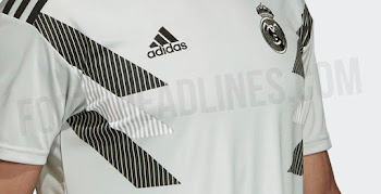 1796fbaae76 Adidas x Parley Real Madrid 18-19 Pre-Match Jersey Leaked
