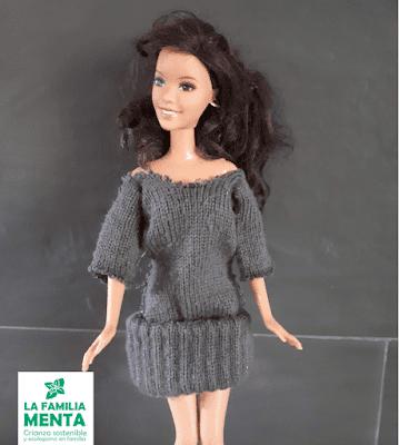 Actividades para peques: Ropa para muñecas con guantes viejos