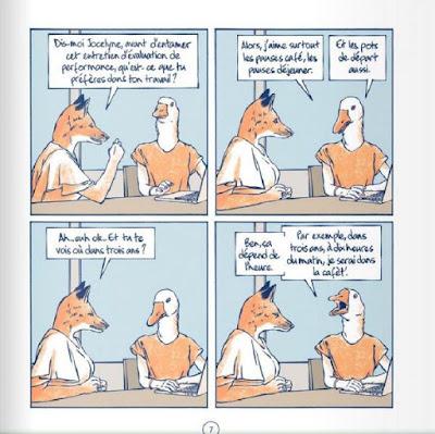 """page de  """"LA VERITE NUE"""" de James chez Delcourt"""