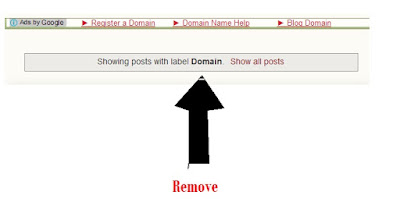 How to Remove Showing posts with label .....