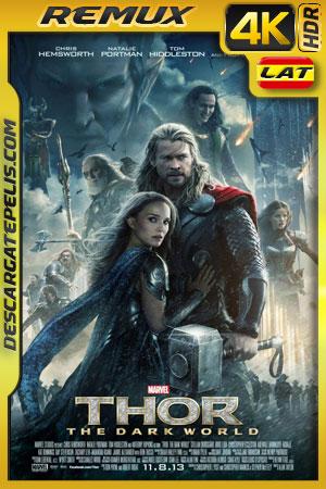 Thor Un mundo oscuro (2013) BD4K Remux 2160p Latino – Ingles