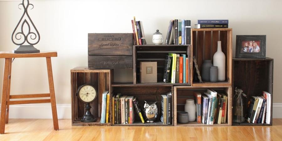 DIY : pomysły na wykorzystanie drewnianych skrzynek, wystrój wnętrz, wnętrza, urządzanie domu, dekoracje wnętrz, aranżacja wnętrz, inspiracje wnętrz,interior design , dom i wnętrze, aranżacja mieszkania, modne wnętrza, DIY, zrób to sam, inspiracje, pomysły, drewniana skrzynka, drewniane skrzynki