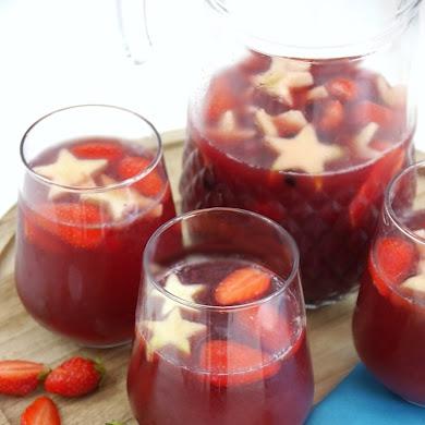 Recette Cocktail Sangria Fruitée