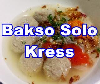 Bakso Solo Kress