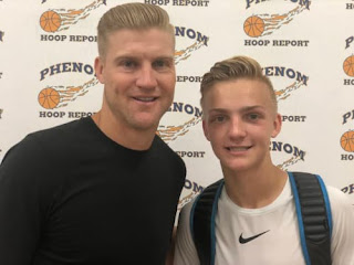 Josh Mccown With His Son