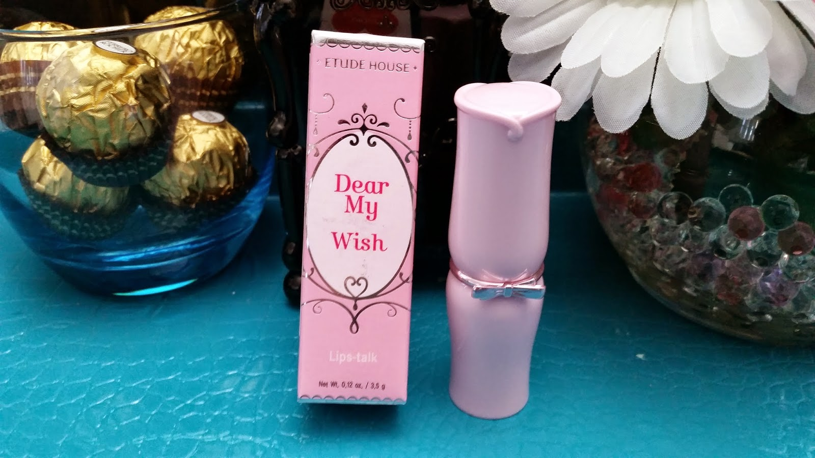 Etude House Dear My Wish Lips-Talk Lipstick Review