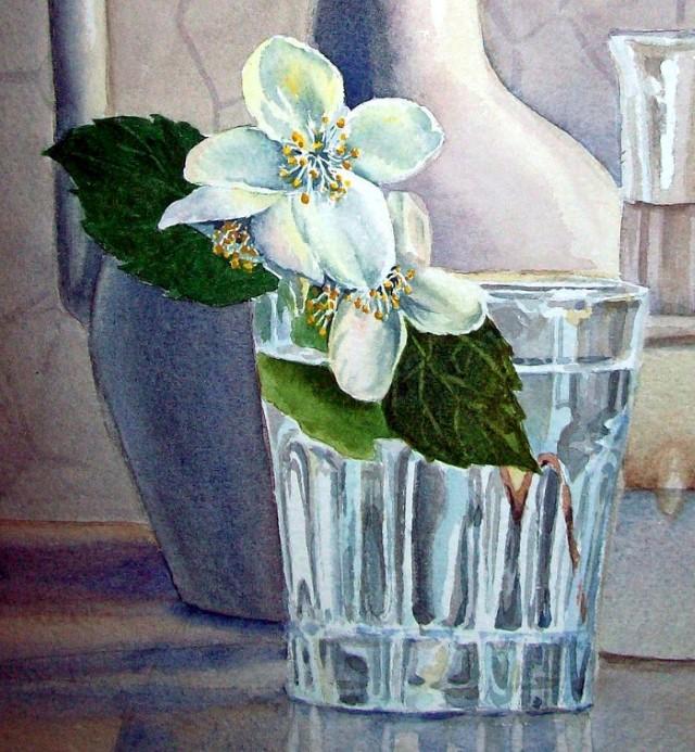 Цветы и цветочные натюрморты акварелью. Irina Sztukowski 15
