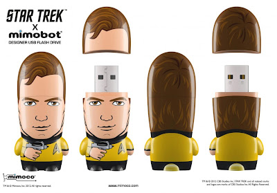 Star Trek Mimobot USB Flashdrives Wave 1 by Mimoco - Captain Kirk