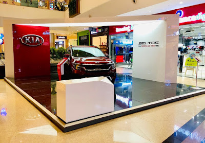 Kia Mall Activation- Sconce Global