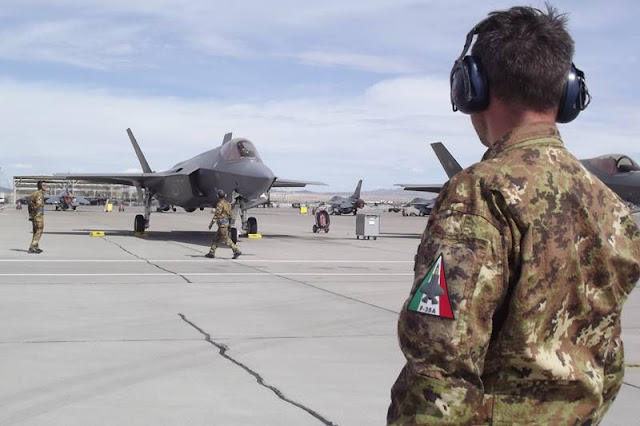 Italian F-35 fighters at Luke AFB reach 2,000 flight hours