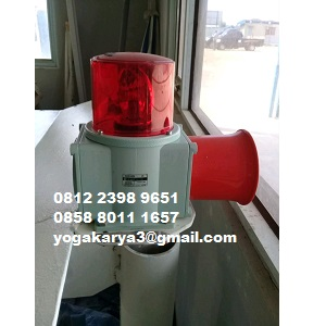 Jual Kombinasi Lampu Klakson Qlight SDS WS 220V di Jakarta