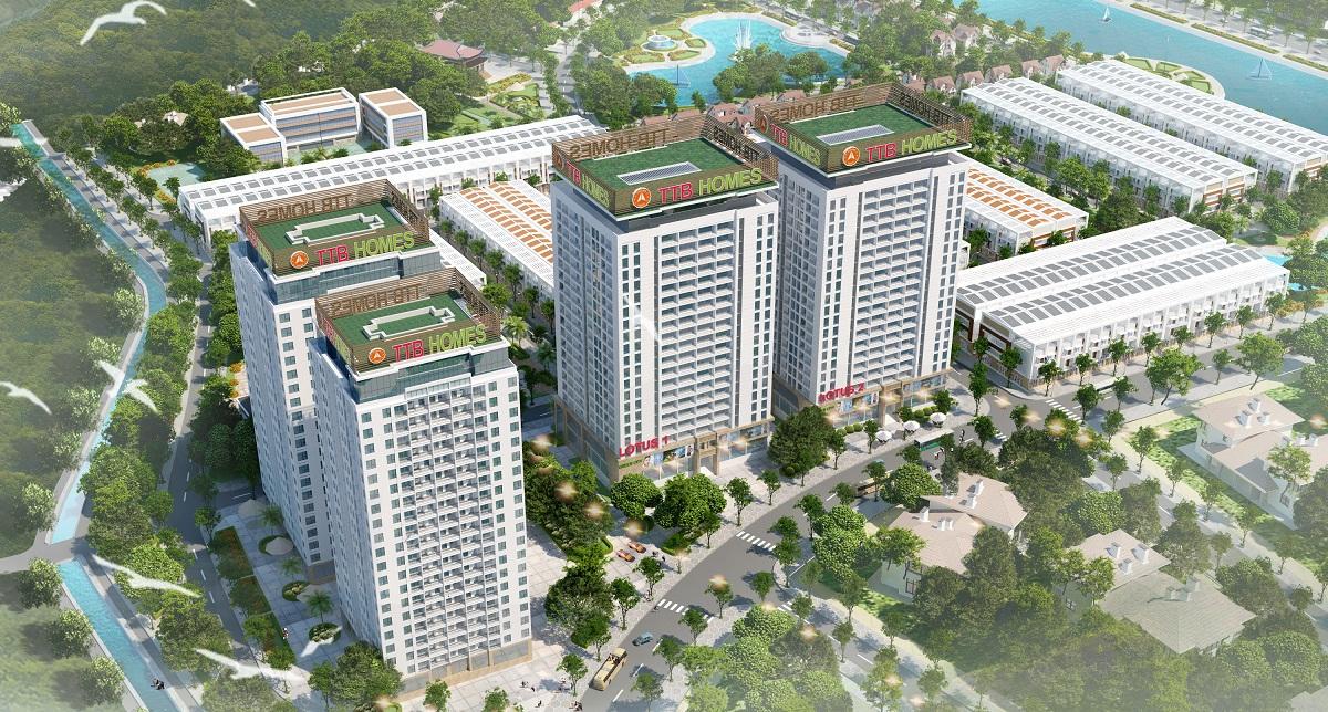 Tổ hợp 4 tòa Chung Cư Green City Bắc Giang