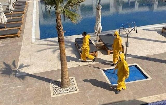 Єгипет послабив карантин: Туристам дозволили заселятися в готелі на курортах