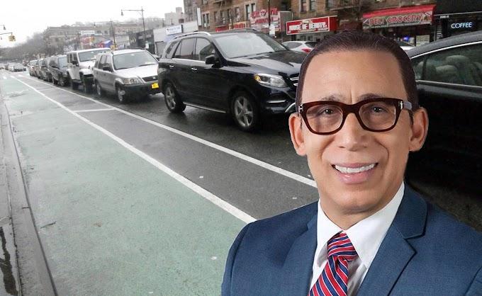 Empresario muestra disconformidad con decisión de eliminar ciclo vía en un lado de la calle Dickman