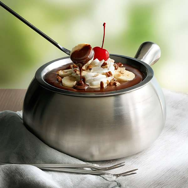 National Chocolate Fondue Day Wishes Unique Image