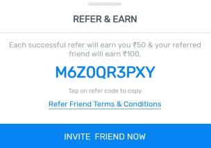 myteam11 share refer code