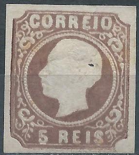 Portugal-D. luís I, 5 reis