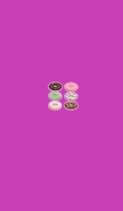 Cute donut shop pink