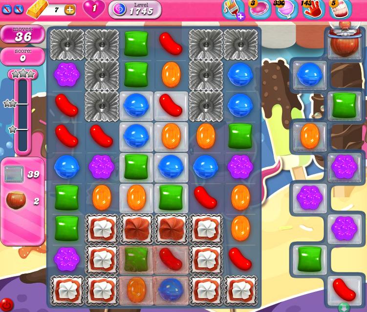 Candy Crush Saga 1745