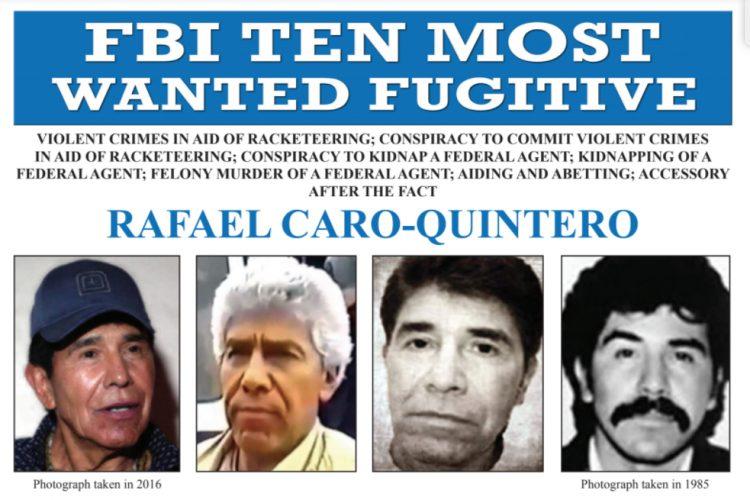 Tribunal confirma posible extradición de Caro Quintero a EU, en caso de ser detenido