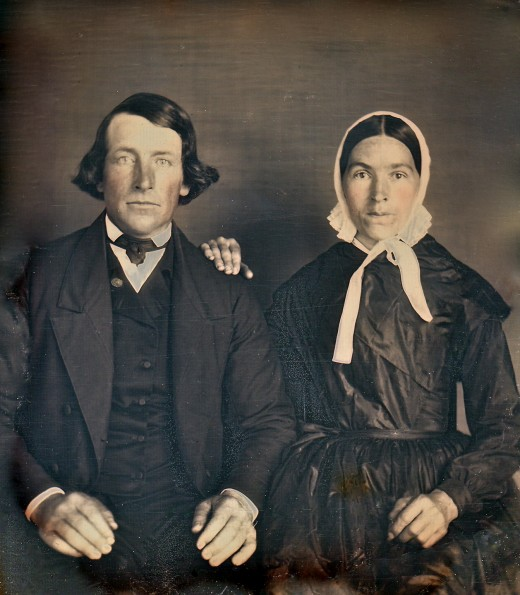 Victorian Husbands And Wives Vintage Everyday