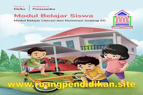 Modul Belajar Literasi Dan Numerasi Semua Tema Kelas 1 SD/MI Kurikulum 2013