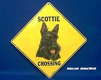 Scottie Crossing Sign
