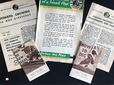 Dig for Victory leaflets from Second World War