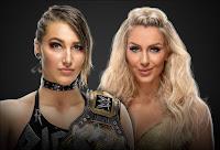Rhea Ripley .vs. Charlotte Flair - WrestleMania 36