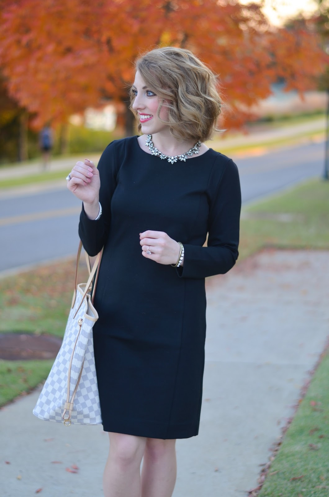 Little Black Dress - Something Delightful Blog