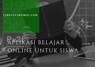 Aplikasi Belajar Online Untuk Siswa