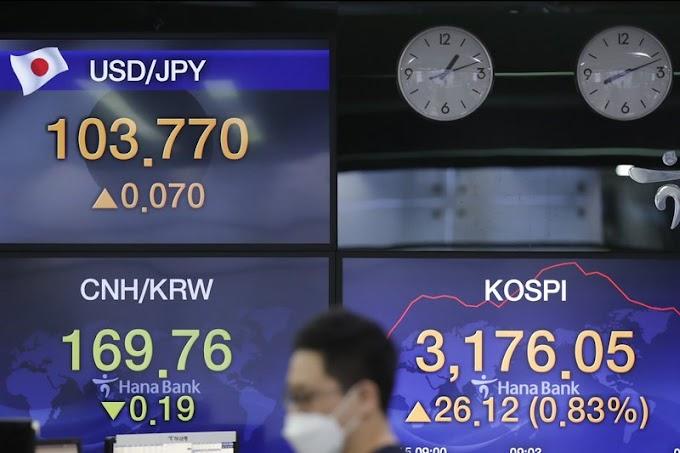 Las acciones mundiales siguen a Wall Street a la baja mientras los operadores reflexionan sobre el plan de Biden