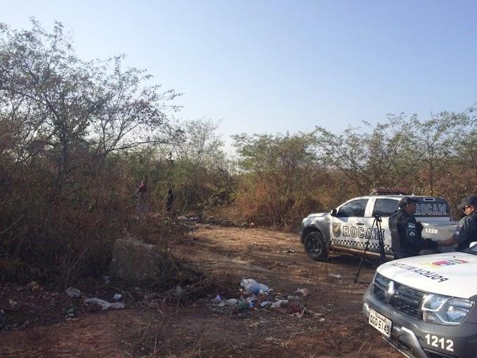 BÁRBARO: Polícia encontra cabeça humana dentro de vala em Mossoró, RN