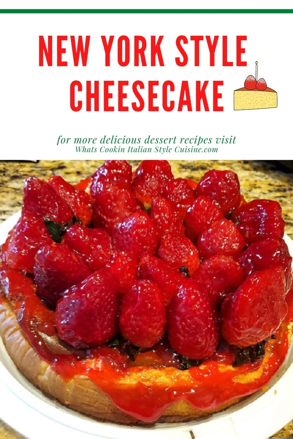 this is a pin later how to make a ny style cheesecake