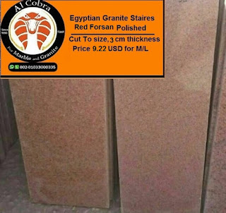 Egyptian granite red forsan