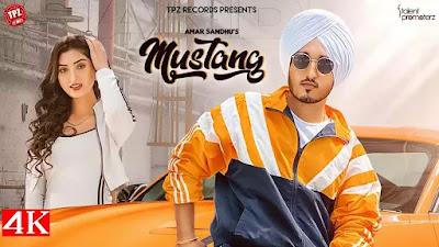 Checkout Amar Sandhu New Song Mustang lyrics on lyricsaavn