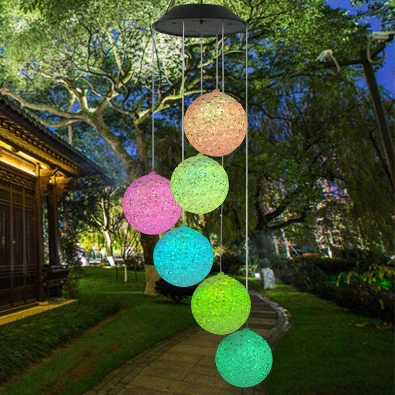 70%  off Solar Powered Wind Chimes