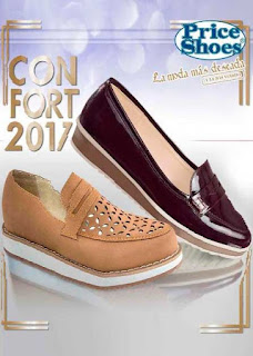 catalogo confort Price Shoes 2017 | Moda