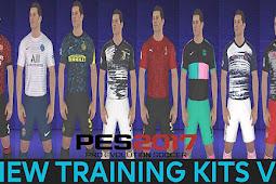 New Kits Training 2021 V2 - PES 2017